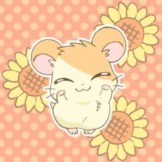 This is Hamtaro. This is Hamtaro. Gif Kawaii, Kawaii Anime, Kawaii Cute, Manga Anime, Anime Art, Gif Animé, Animated Gif, Chibi, Otaku