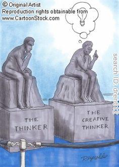 Creative thinking vs critical thinking