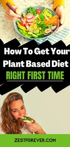 If you're wondering where to start on your plant based diet, then this post will give you tips on the benefits, foods to ditch from your cupboards, foods to replace them with, all the diffeent plant based food groups, and some food combining examples. Start your environmentally friendly plant journey today on to health, happiness and ZestForever! #howtostartaplantbaseddiettips #plantbaseddietforbeginners #plantbaseddiet Plant Based Diet Benefits, Plant Based Diet Meals, Plant Based Meal Planning, Plant Based Eating, Plant Based Recipes, Benefits Of Going Vegan, Natural Diet Pills, Reasons To Go Vegan, Vegan Protein Sources