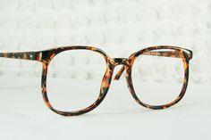 80s Oversize Glasses 1980's Round Eyeglasses by THAYEReyewear, $39.00
