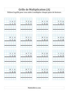CM2: EXERCICES diviser et multiplier par 10, 100, 1000 ... un nombre décimal | Enseignement ...