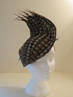 Lizzie Hughes on Winter Milinery