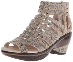 Jambu Women's Sugar Floral Wedge Sandal >>> New and awesome product awaits you, Read it now  : Wedge sandals