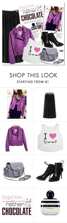 """""""Yoins.com"""" by mada-malureanu ❤ liked on Polyvore featuring Morea, Marc Jacobs, Urban Decay, women's clothing, women's fashion, women, female, woman, misses and juniors"""