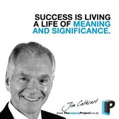 Jim Cathcart is founder and president of Cathcart Institute, Inc. and one of the most widely recognized professional speakers in the world. As the author of 13 books and scores of recorded programs, his students number in the hundreds of thousands. Legacy Projects, Student Numbers, The Hundreds, Scores, Speakers, Meant To Be, Presidents, Motivational, Students