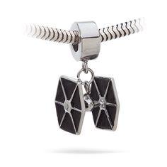 Star Wars Tie Fighter Charm Bead