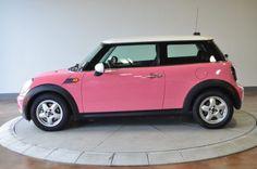 2007 Pink MINI Cooper