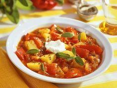 Paprika-Kartoffel-Gulasch -
