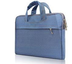 "Excellent High Quality Denim Material Designer Portable Laptop Carrying Case for 13.3, 14, `5.6"" - 6 Colors"