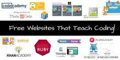 14 Free Websites That Teach Coding!