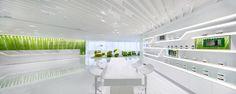 Neo Derm interior by Beige Design, Hong Kong office design