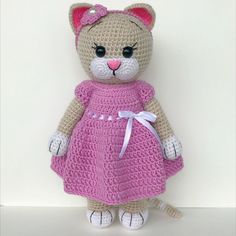 40 Cute Animal and Cartoon Character Amigurumi Crochet Patterns For Your Baby Part amigurumi crochet patterns; Crochet Dolls Free Patterns, Crochet Doll Pattern, Amigurumi Patterns, Amigurumi Doll, Amigurumi Tutorial, Crochet Cat Toys, Crochet Bunny, Crochet Hats, Crochet Poncho