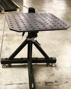 Welding Cart, Welding Shop, Diy Welding, Welding Table, Welding Projects, Fixture Table, Metal Fabrication Tools, Sheet Metal Tools, Steel Gate Design