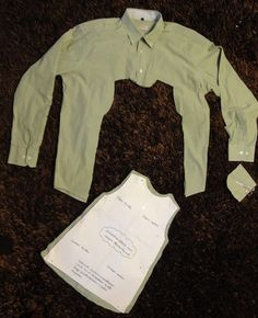 Hemd wird ärmelloses Kleid - Frau Käferin näht