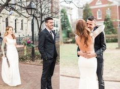 Kendall   Sebastien \ Stylish Philadelphia Wedding Photography \ Maggpie Vintage Rentals   Front and Palmer