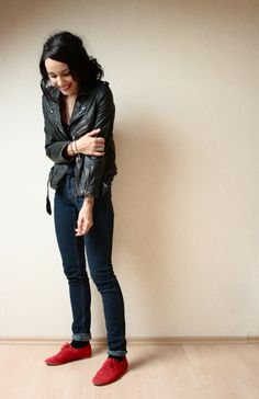 Someday when I have money (and no sense) I will buy a nice leather jacket.