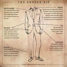 Make sure your clothes ACTUALLY fit. | 34 Game-Changing Style Tips Every Guy Should Know | www.pilaeo.com