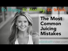 ▶ The Most Common Juicing Mistakes From another great contributor to Juicing Healthy Mag  Find her in our first issue https://itunes.apple.com/us/app/juicing-healthy-mag/id630595767?mt=8