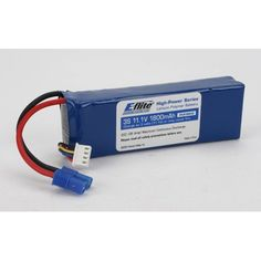 E-Flite 1800mAh 3S 11.1V 20C LiPo Battery, 13GA EC3 by E-flite. $24.24. Add reliable performance to any aircraft with E-flite's High-Power 3-cell LiPo battery pack.