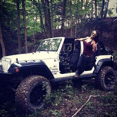 Mostly Jeeps — xtremdude:   Doin it in the woods!! Like it