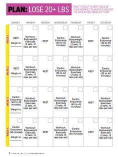30 day weightloss challenge plan - Google Search | Weight loss ...