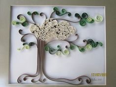 It consists of winding thin strips of paper tightly An exquisite paper art book featuring quilling techniques for cards and gifts. Description from qquilling.com. I searched for this on bing.com/images
