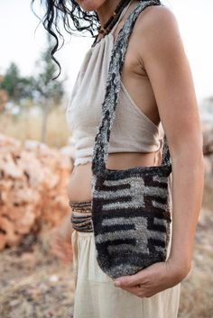 Your place to buy and sell all things handmade Tribal Fashion, Sheep Wool, Hand Spinning, Handmade Bags, Fabric Material, Hand Stitching, Hand Weaving, Unique Gifts, How Are You Feeling