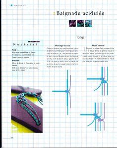 Como hacer Zapatillas Hawaianas de Macrame - enrHedando