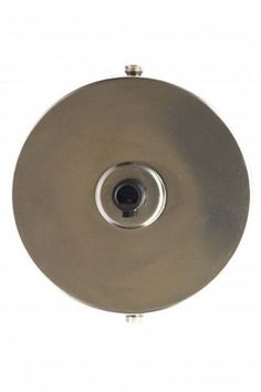Raw Steel Effect Warehouse Ceiling Rose