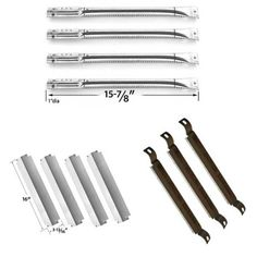 repair kit for charbroil commercial bbq gas grill includes 4 stainless steel burner 4 - Char Broil Gas Grill Parts