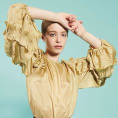 We had the best time shooting the stunning @katiiewhelan from @notanotheragency for this month's fashion editorial Bright Young Things. Katie wears a silk blouse from @driesvannoten available at @brownthomasofficial #IrishTatlerLoves #IrishTalent #FashionEditorial #BrightYoungThings #DriesVanNoten #SilkBlouse #BrownThomas #BT (Photographer @veronikafaustmann makeup by @cloochy using @bourjois_uk hair by @cashmandjmc)  via IRISH TATLER MAGAZINE OFFICIAL INSTAGRAM - Celebrity  Fashion  Haute…