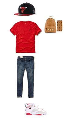 """""""BrandnameBraBray☺️"""" by mackenzieandsierra on Polyvore featuring Hollister Co. and MCM"""