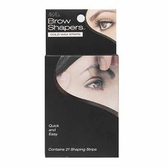 Ardell Brow Shapers Cold Wax Strips, 21 Count (Pack of Pack of six, 21 Count each (Total of 126 Strips). Contains 21 Shaping Strips. Pre-cut to fit almost any brow shape. Quick and Easy. For heavy or fine hair. Date of Release: Brow Shaper, Wax Strips, Hair Removal Cream, See On Tv, Shaved Hair, Fine Hair, Shaving, Counting