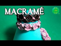 Macrame ancha Rosa Marron | Fácil | DIY - YouTube