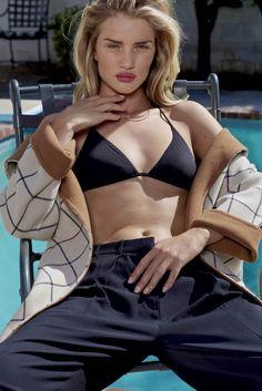 Rosie Huntington-Whiteley by Collier Schorr for 'V89' Summer 2014 | Highsnobiety