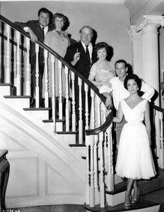 Burl Ives, Elizabeth Taylor, Paul Newman, Jack Carson, Madeleine Sherwood e Judith Anderson La gatta sul tetto che scotta 1958