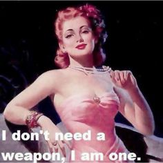 redheads don't need a weapon #ginger