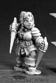 Tetch? - two short swords
