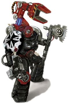 A Techmarine of the Black Templars Warhammer 40k Rpg, Warhammer 40k Miniatures, Warhammer Fantasy, Battle Brothers, Grey Knights, Deathwatch, Imperial Fist, Templer, Dark Ages