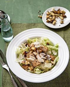 Caesar salad with or without chicken