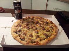 Pizza, porcini e tartufo! Wow!