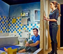 Bloomington Playwrights Project:   The Boy in the Bathroom review.