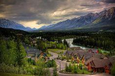 Three Sisters Mountain Village, Canmore, Alberta, Canada