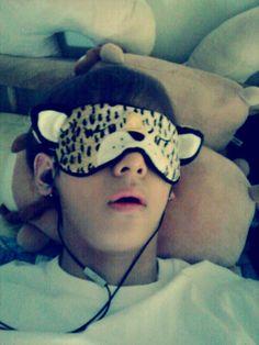 sleeping V