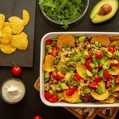 Salsa, Tortilla Chips, Nachos, Avocado Toast, Cobb Salad, Breakfast, Saturday Night, Food, Morning Coffee