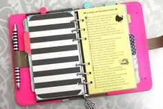 The great thing about planners is that there are nearly an endless amount of ways to customize them and add personality to keep you motivated with your daily goals and to-dos! I am asked all the ti...