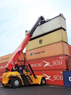 SANY container reach stacker