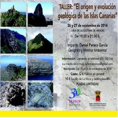 #Laspalmas TALLER EL ORIGEN Y EVOLUCIÓN GEOLÓGICA DE LAS ISLAS CANARIAS ecoagricultor.com