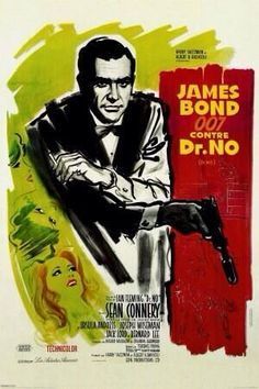 Retro James Bond posters via @MrsD_Helen