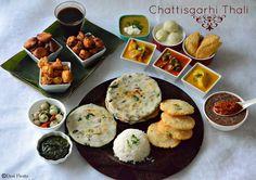 Desi Fiesta : Chattisgarhi Thali   Chattisgarh Cuisine